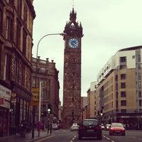 Photo taken at Glasgow Cross by Joana B. on 9/22/2013