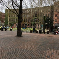 Photo taken at Pioneer Square by Kathy T. on 4/8/2017