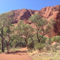 Photo taken at Uluru by Antonio D. on 4/15/2013