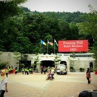 Photo taken at Penang Hill Railway Lower Station by Bel G. on 11/10/2012