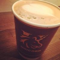 Photo taken at txpresso & espresso cafe UNICORN by kakkccen on 4/10/2014