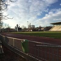 "Photo taken at Stadionul Național de Rugby ""Arcul de Triumf"" by Theodor S. on 11/30/2015"