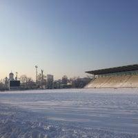 "Photo taken at Stadionul Național de Rugby ""Arcul de Triumf"" by Theodor S. on 1/23/2016"
