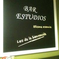 Photo taken at Estudios by Javier F. on 8/13/2013