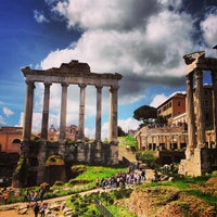 Photo taken at Roman Forum by Greg T. on 4/9/2013