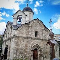 Photo taken at Храм св. мч. Трифона в Напрудном by Yana L. on 8/31/2014