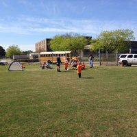 Photo taken at Lake Taylor Soccer Field by Rob on 4/26/2014