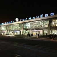 Photo taken at Tolmachevo International Airport (OVB) by Sergey🚀 K. on 3/13/2013