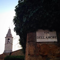 Photo taken at via dell'amore by Tati K. on 8/12/2015