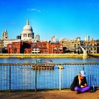 Photo taken at London by Thomas P. on 3/9/2013