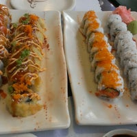 Photo taken at Tokyo Sushi by Mallory K. on 8/17/2013