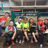Photo taken at Kompleks Gelora Bung Karno by Roel P. on 1/14/2017