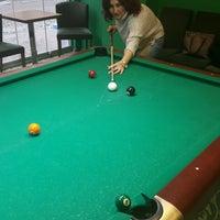 Photo taken at Billiarium Pool Club by Hatice D. on 2/4/2017