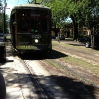 Photo taken at St. Charles Avenue Streetcar by Michael Z. on 4/15/2013