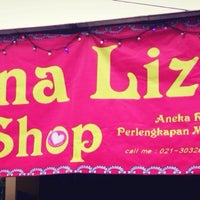 Photo taken at MounaLizza Shop Jl.Raya Hankam Jatirahayu by Khadiyah on 11/23/2013