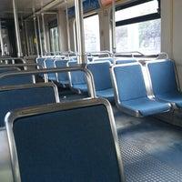 Photo taken at North Avenue Light Rail Station by Pamela T. on 11/2/2012
