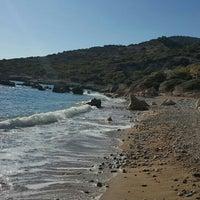 Photo taken at Fourni Beach by Marie m. on 7/5/2016