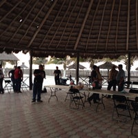 Photo taken at Centro Recreativo Playa Norte by Walter W. on 3/25/2015