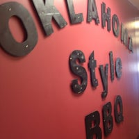 Photo taken at Oklahoma Style Barbecue by Yolanda S. on 9/11/2013