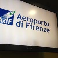 "Photo taken at Aeroporto di Firenze ""Amerigo Vespucci"" (FLR) by Veronika on 12/1/2012"