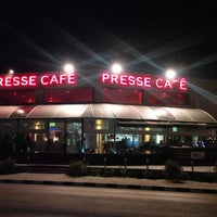 Photo taken at Presse Cafe by Theodoros K. on 3/23/2014