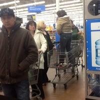 Photo taken at Walmart Supercenter by Cirque C. on 1/25/2013