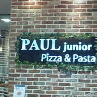 Photo taken at PAUL junior pizza & pasta by J.Y K. on 4/28/2013