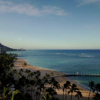 Photo taken at Hilton Hawaiian Village Waikiki Beach Resort by Michael J. on 7/27/2013