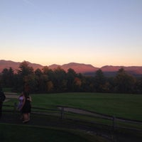 Photo taken at Lake Placid Club Resort Golf by Mike T. on 9/27/2014
