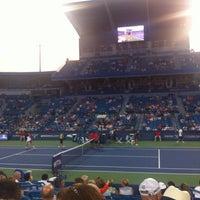 Photo prise au Western & Southern Tennis Media Center par Andreas B. le8/12/2014