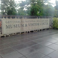 Photo taken at Gettysburg National Military Park Museum and Visitor Center by Traci H. on 6/6/2013