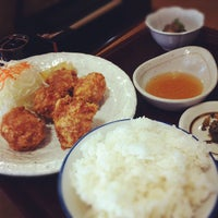 Photo taken at 定食 小川家 by Ryoma M. on 10/12/2012