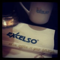 Photo taken at EXCELSO by En Tay Y. on 10/26/2012