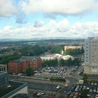 Photo taken at Oldham Civic Centre by Richardesty on 9/15/2015