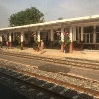 Photo taken at Taphan Hin Railway Station (SRT1099) by KUGENUMAN on 2/22/2017