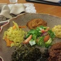 Photo taken at Awash Ethiopian Restaurant by David H. on 9/3/2015