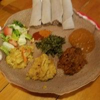 Photo taken at Awash Ethiopian Restaurant by David H. on 2/23/2017