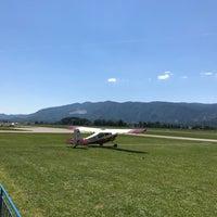 Photo taken at Alpski letalski center Lesce by Grega D. on 6/19/2017