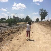 Photo taken at Şantiye Alanı by Esra A. on 6/23/2016
