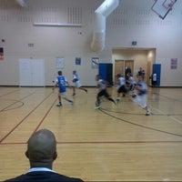 Photo taken at Falcon Creek Middle School by Eriq C. on 2/23/2013