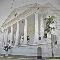 Photo taken at Bogor Palace by Disson Y. on 7/2/2013
