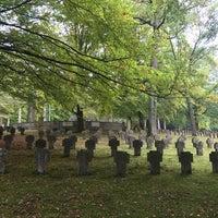 Photo taken at Waldfriedhof by Elena B. on 9/30/2017
