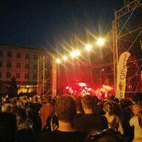 Photo taken at Plac Krakowski by Paweł M. on 6/24/2016