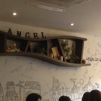 Photo taken at Angel-in-us Coffee by Rita W. on 10/12/2013