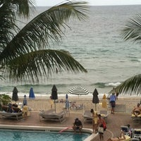 Photo taken at Fort Lauderdale Beach by Delete on 12/28/2012