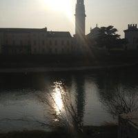 Photo taken at Lungadige San Giorgio by Vittorio B. on 1/27/2013