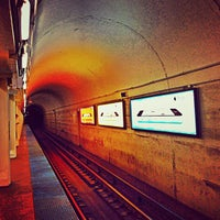 Photo taken at CTA - North/Clybourn by Kyle D. on 10/10/2013