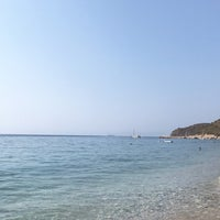Photo taken at Tuna Beach by Eda C. on 8/18/2017