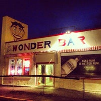 Photo taken at Wonder Bar by Eric O. on 4/9/2013