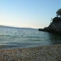 Photo taken at Plaža Beli by Šarkezi R. on 7/23/2013